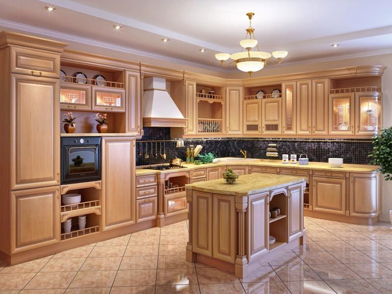 Дизайн кухни классической