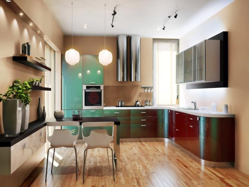 Кухня хамелеон стильные кухни